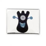 AURA 3 children's bracelet slider funny monster black blue