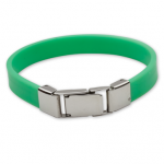 AURA 3 children's bracelet green slider funny monster