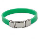 AURA 3 children's bracelet green slider funny monster