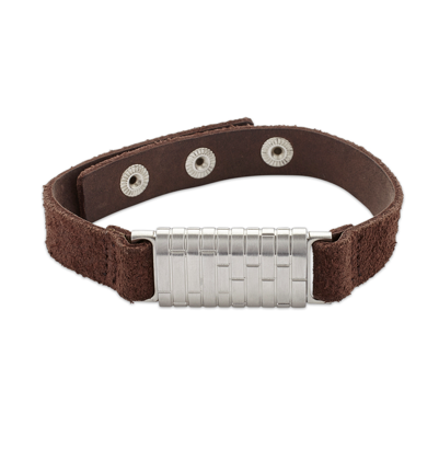 Aura3 UK - Men's bracelet leather
