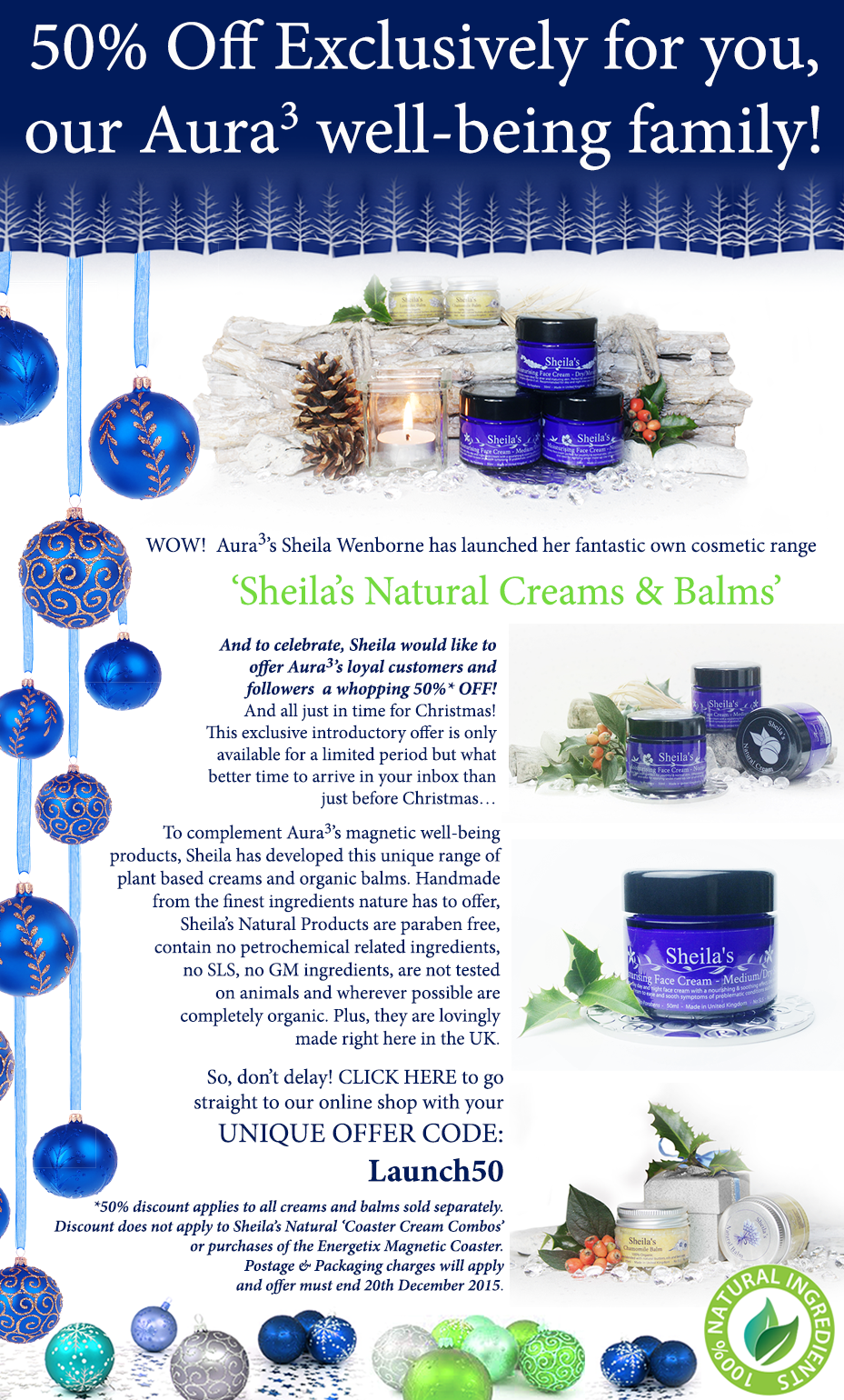 Sheila's-Naturals-launch-Christmas-newsletter-December-2015
