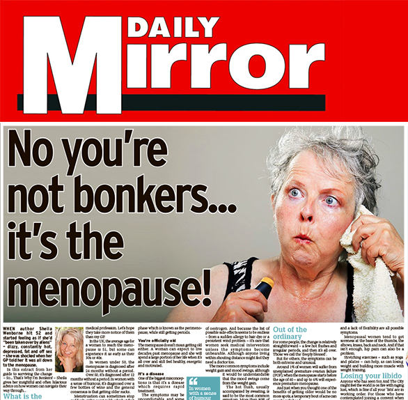 Daily Mirror Sheila Wenborne Aura3