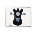 AURA 3 children's bracelet slider funny monster black blue